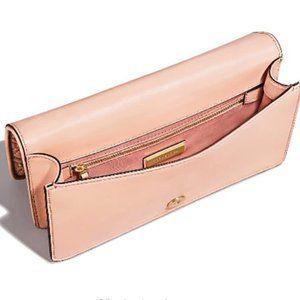 Rivet leather handbag
